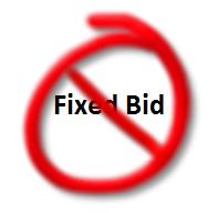 fixed-bid